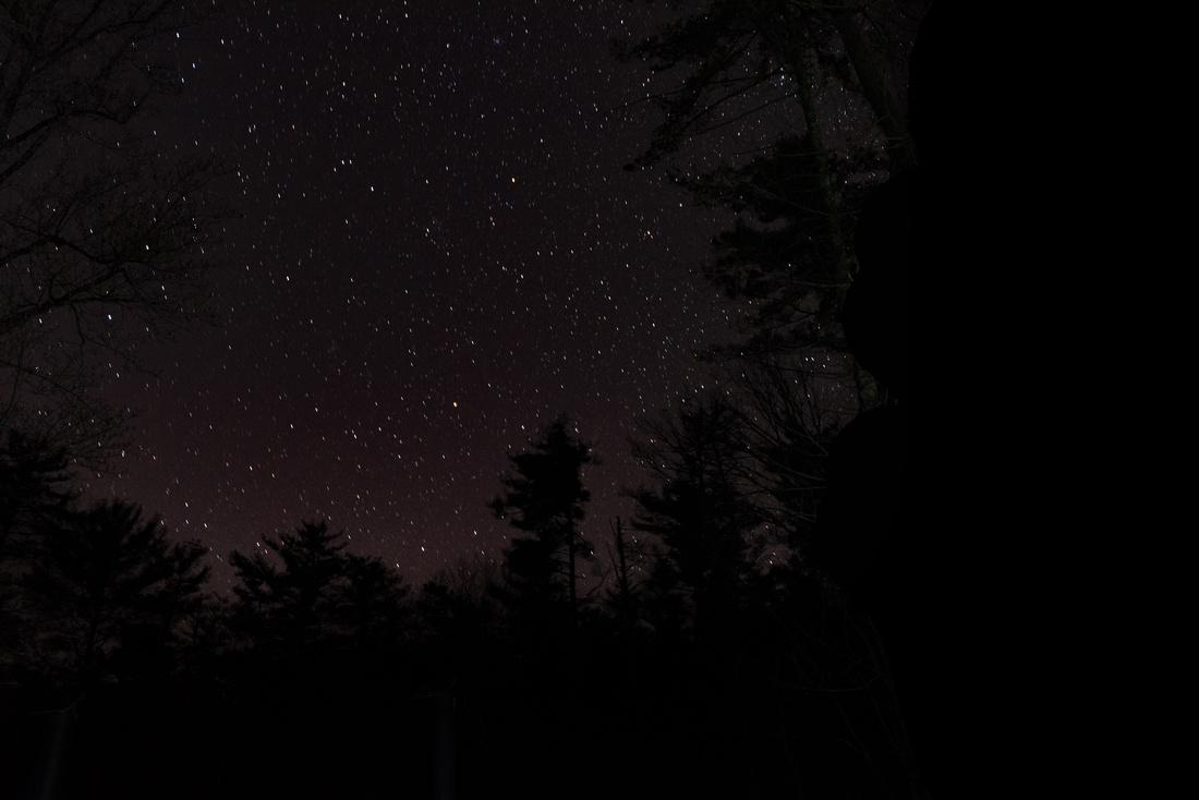 Night Sky - Backbone Rock - Abingdon VA